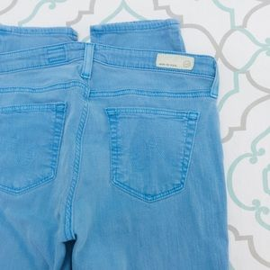 "💙👖AWESOME! AG STEVIE ANKLE👖💙28 5/6 27"" EUC"